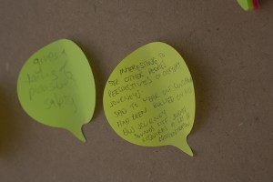 Comments left by visitors to Ticket to Ride travel pod