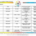 Timetable 2015 Mon -  Thur