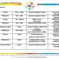 Timetable 2015 Thur - Sun