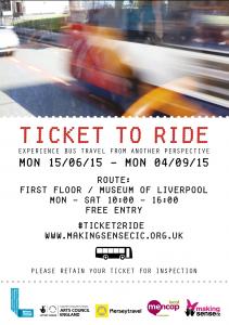 Ticket to Ride June - September 2015