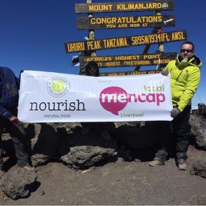 banner mt. kilimanjaro