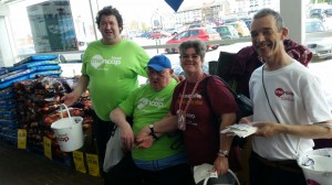 TESCO BUCKET COLLECTION- AUGUST 2016
